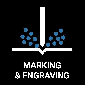 DII icon marking engraving